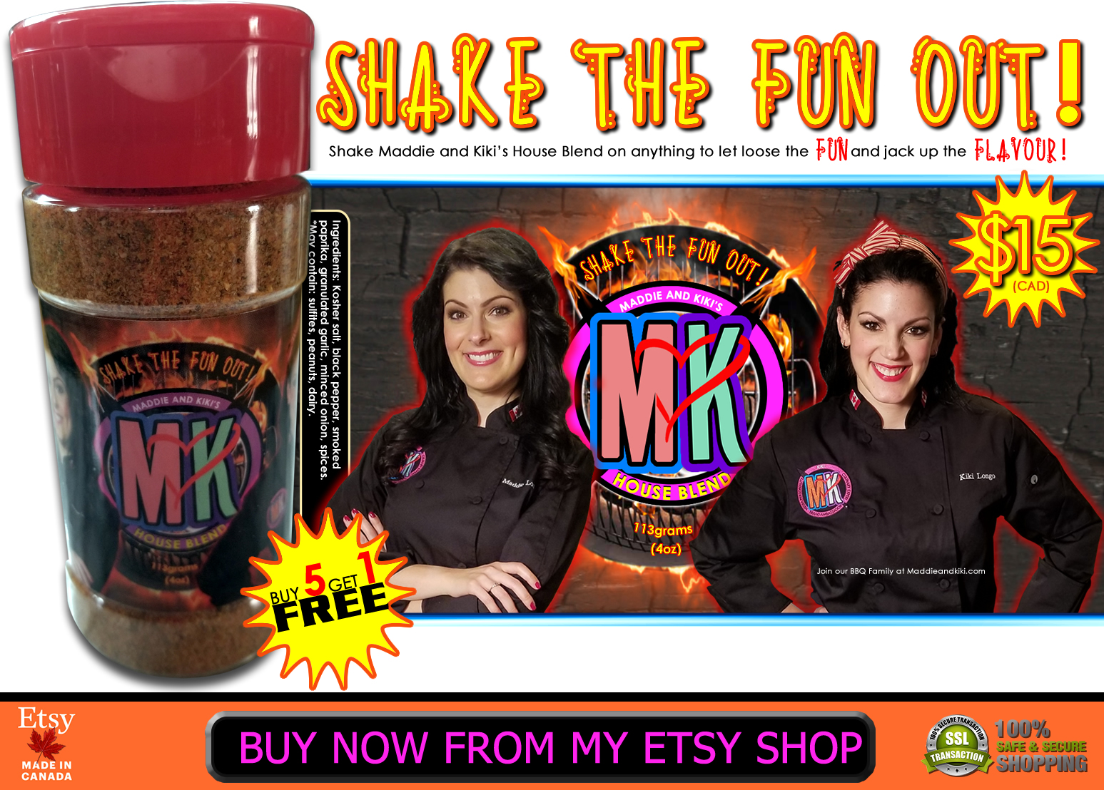 Shake the Fun out!